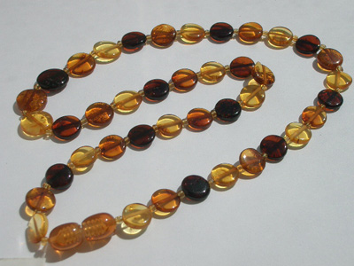 Amber Teething Necklaces For Teething Pain Bpa Free