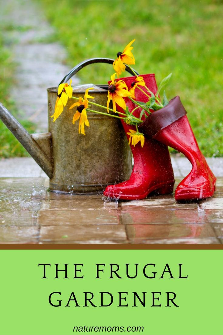 best frugal gardening tips