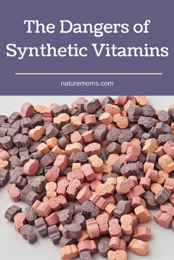 danger of synthetic vitamins