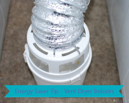 Energy Saver Tip - Vent Dryer Indoors - Nature Moms Blog » Nature Moms