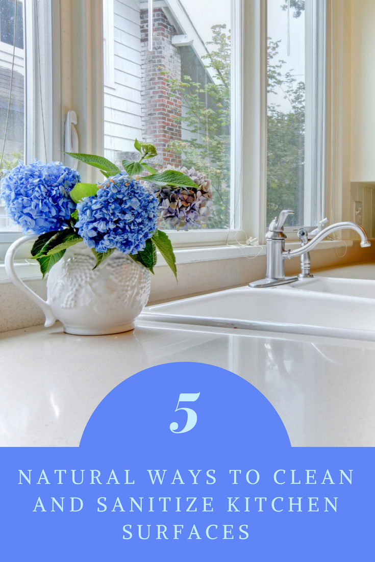 Natural Ways to Clean and Sanitize Kitchen Surfaces