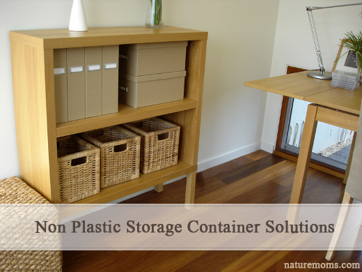 Non Plastic Storage Container Solutions