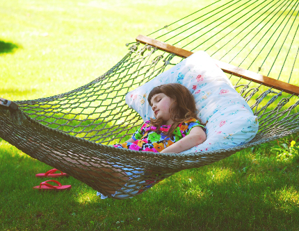 Sleeping in the Hammock