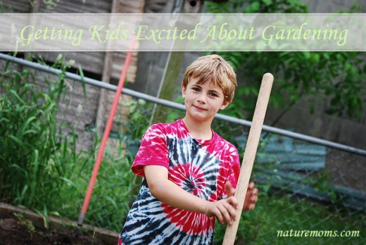 Getting Kids Excited About Gardening