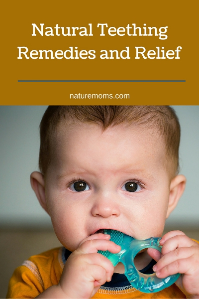 Natural Teething Remedies and Relief pin
