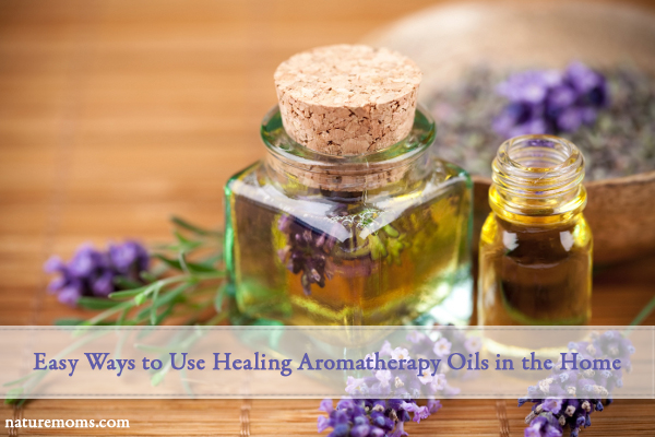 using aromatherapy in the home