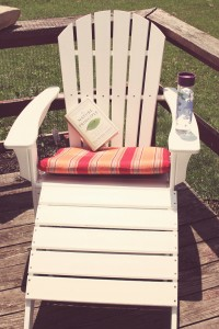 Adirondack Chair made from recycled milk jugs