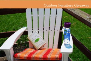 Green Outdoor Furniture Made of Recycled Plastic