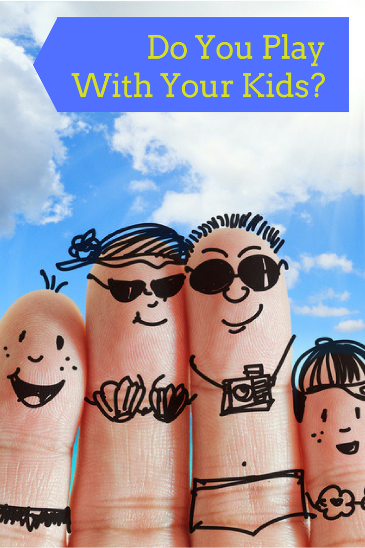 Play Your Card Right On Pinterest: Do You Play With Your Kids?