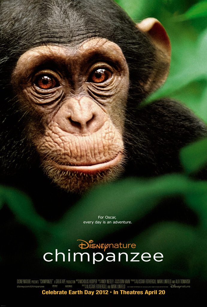 DisneyNature Chimpanzee Movie on Earth Day