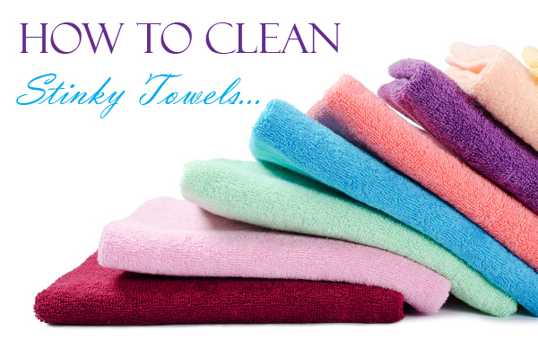 how to get rid of the mildew smell in bath towels. Black Bedroom Furniture Sets. Home Design Ideas