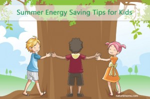 kids saving energy