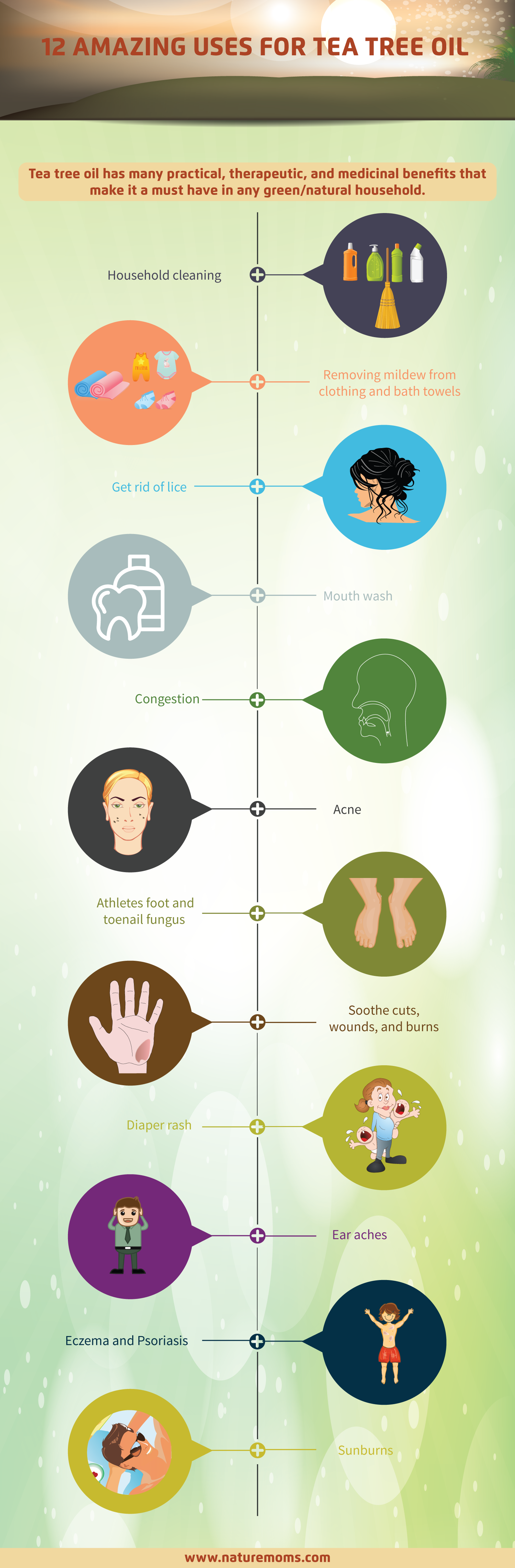 12 Uses for Tea Tree Oil