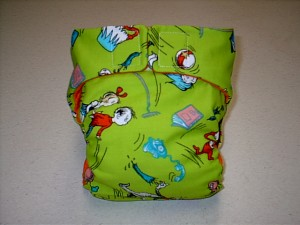 Dr. Seuss Diaper
