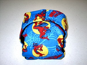 Spiderman Diaper
