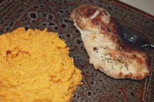 pork-mashed-sweet-potatoes