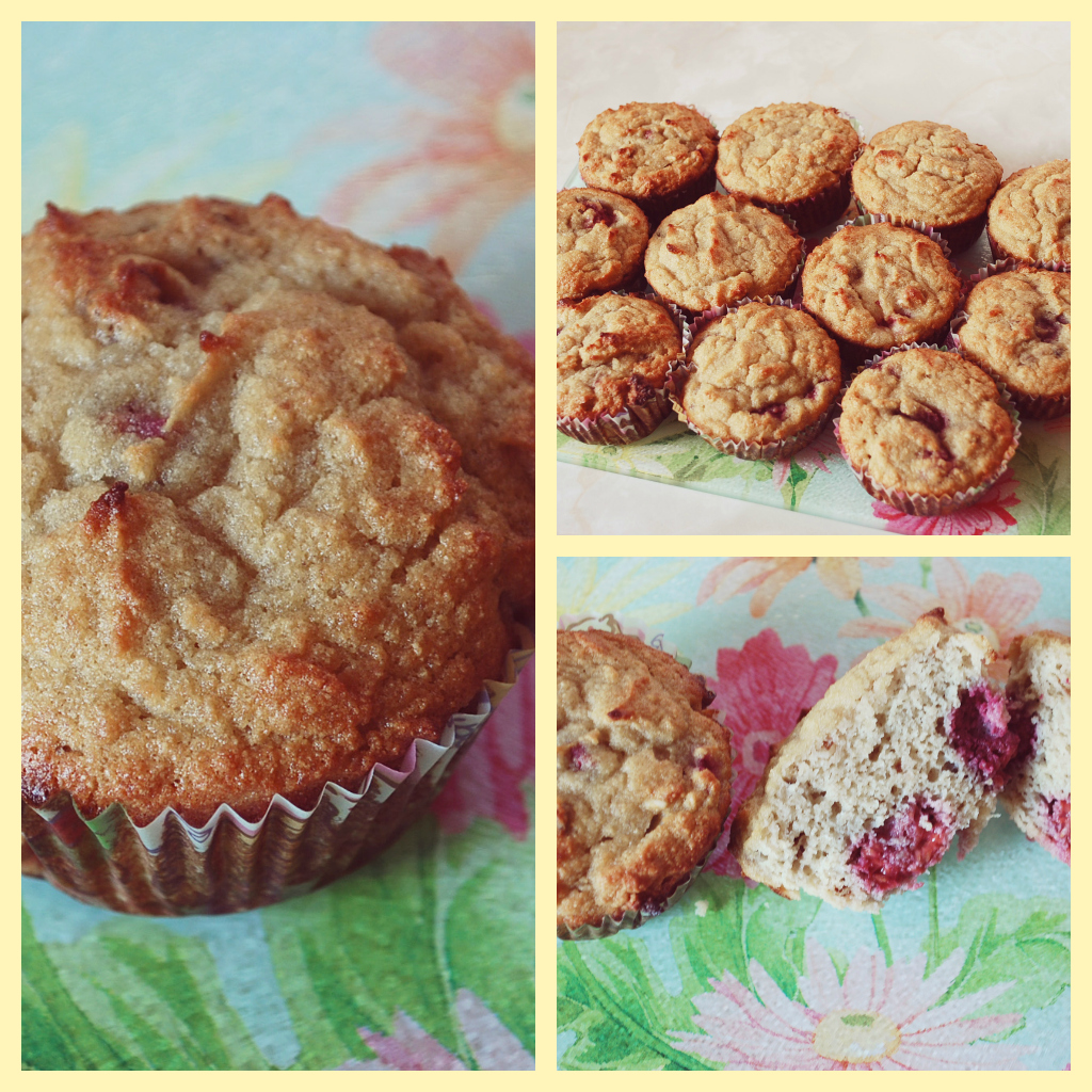 Primal Coconut Raspberry Muffins