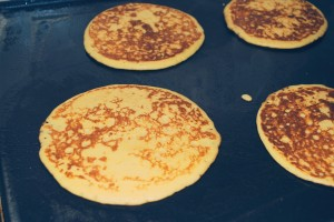 pancakes-on-griddle