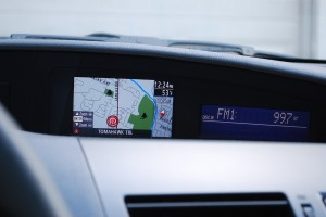 Navigation on the Mazda 3i