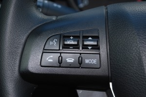Bluetooth hands free talking in the Mazda 3