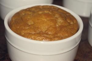 Pumpkin Souffle in Ramekin