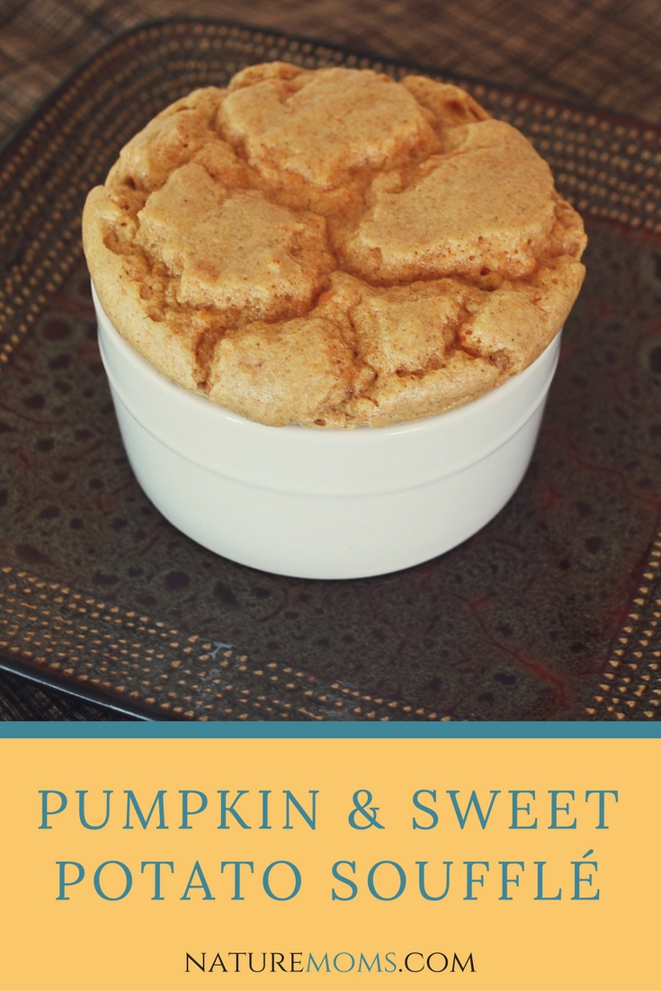 Pumpkin Sweet Potato Soufflé