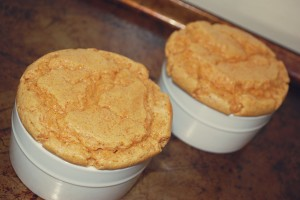 Sweet Potato Souffles on Pan