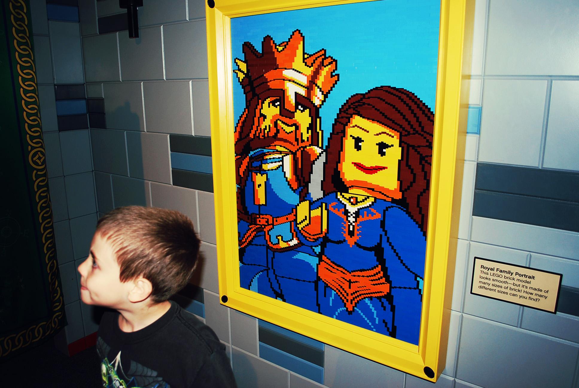 Lego Castle Adventure at COSI