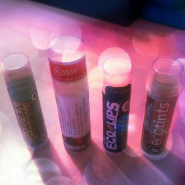 Organic Lip Balms for Dry Winter Lips