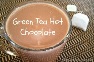green tea hot chocolate