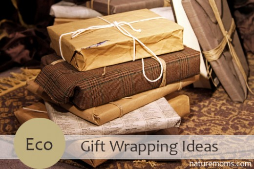 eco friendly options for gift wrapping nature moms blog nature moms. Black Bedroom Furniture Sets. Home Design Ideas