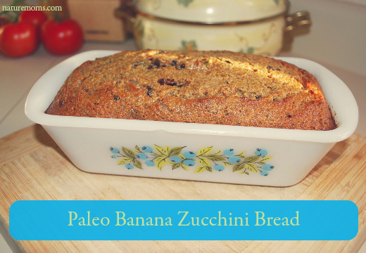 Paleo Banana Zucchini Bread Recipe