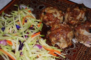 eMeals Asian Meatballs Dinner