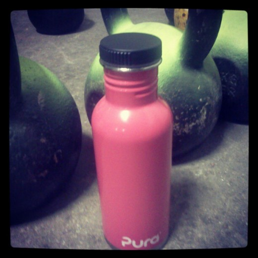 pura bottle kettlebells