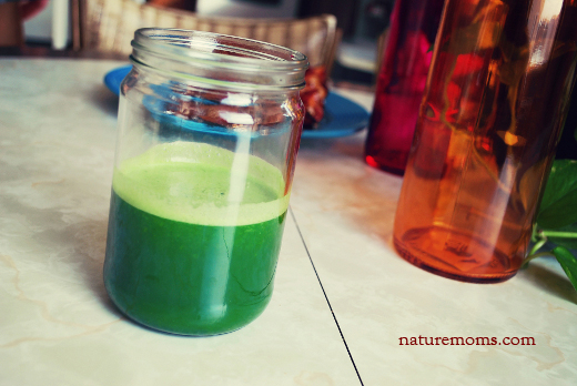 apple cucumber ginger kale juice