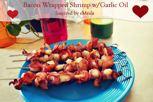 bacon wrapped shrimp from emeals