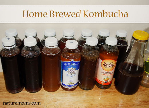 kombucha bottles homemade sm