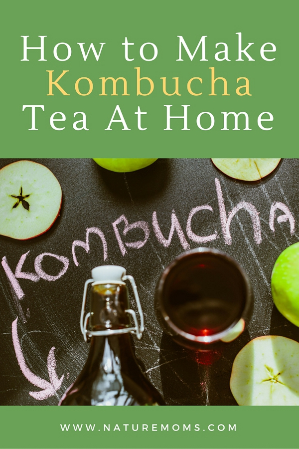 How to Make Home Brewed Kombucha