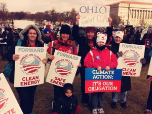 Climate Rally with Moms Clean Air Force