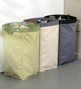 fabric reycling bins