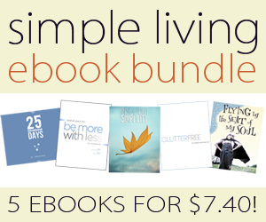 simple living bundle