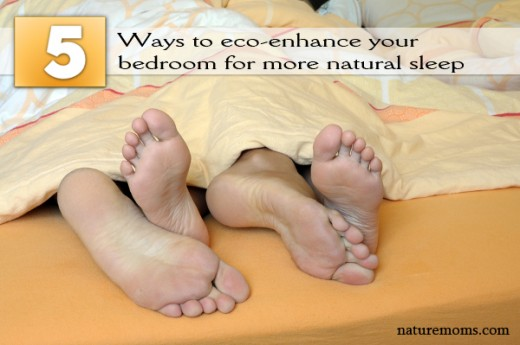 5 Ways to eco-enhance your bedroom for more natural sleep
