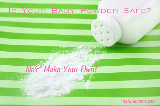Homemade Baby Powder Recipe