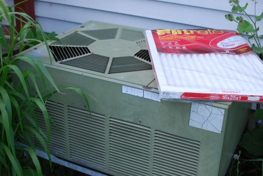 A/C Unit and Filtrete Filter