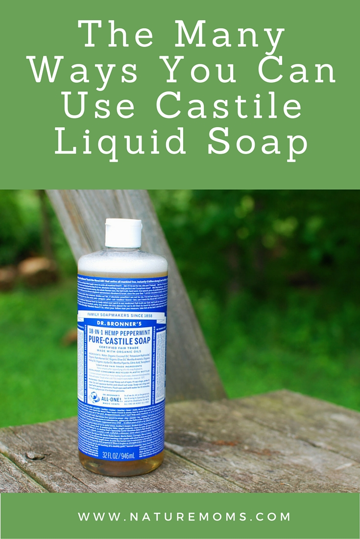 Ways You Can Use Castile Soap