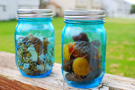 blue vintage ball jars sm