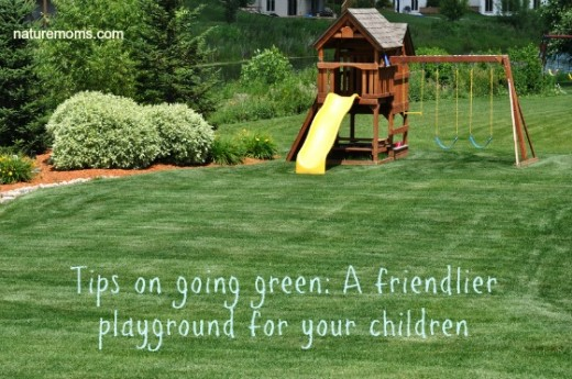 Greener playground playsets for the home