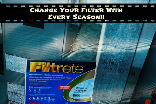 change filter