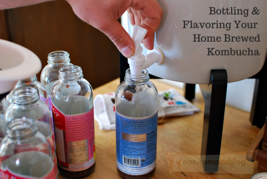 Bottling & Flavoring Your Home Brewed Kombucha