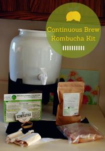 Continuous Brew Kombucha Kit long